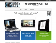 Homepage of Lens and Laser Website