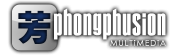 Phongphusion Multimedia Design Retina Logo